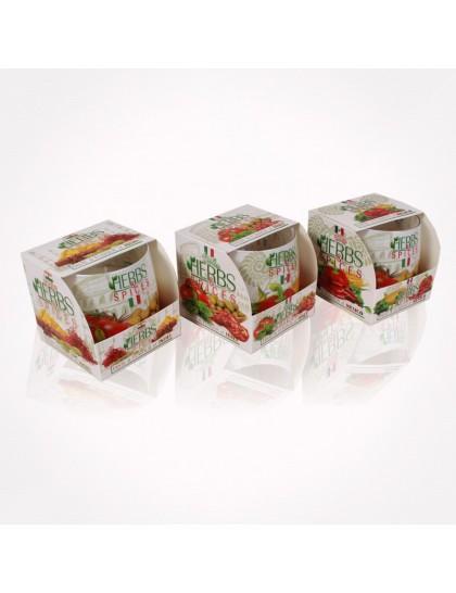 Bartek poharas  gyertya 100 gr Herbs&amp Spices