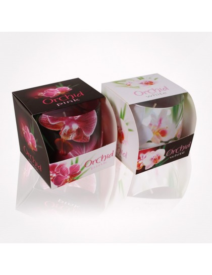 Bartek poharas  gyertya 100 gr Orchid