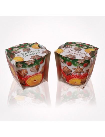 Bartek poharas gyertya 115g Christmas Cookies