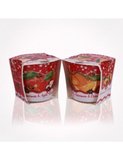 Bartek poharas gyertya 115g Christmas Spices