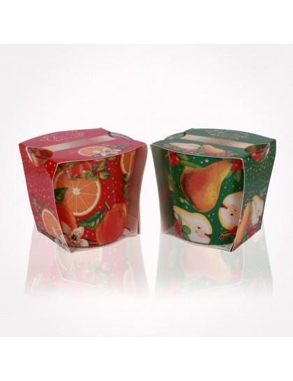 Bartek  poharas gyertya 115 gr Christmas Garden