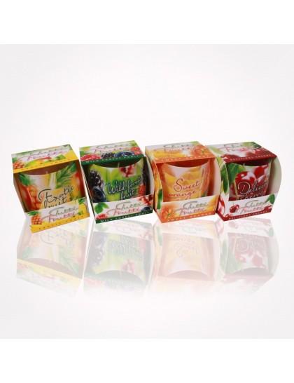 Bartek poharas  gyertya 100 gr Tutti Frutti