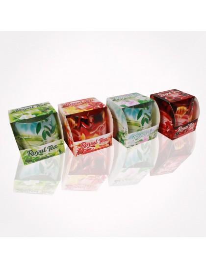 Bartek poharas  gyertya 100 gr Royal Tea