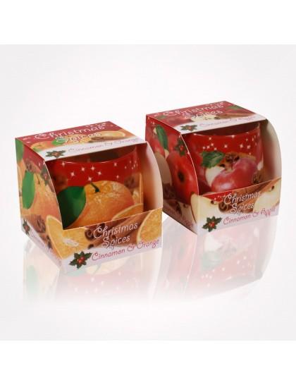 Bartek poharas  gyertya 100 gr Christmas Spices